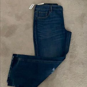 NWT..Old navy flare mid rise jeans